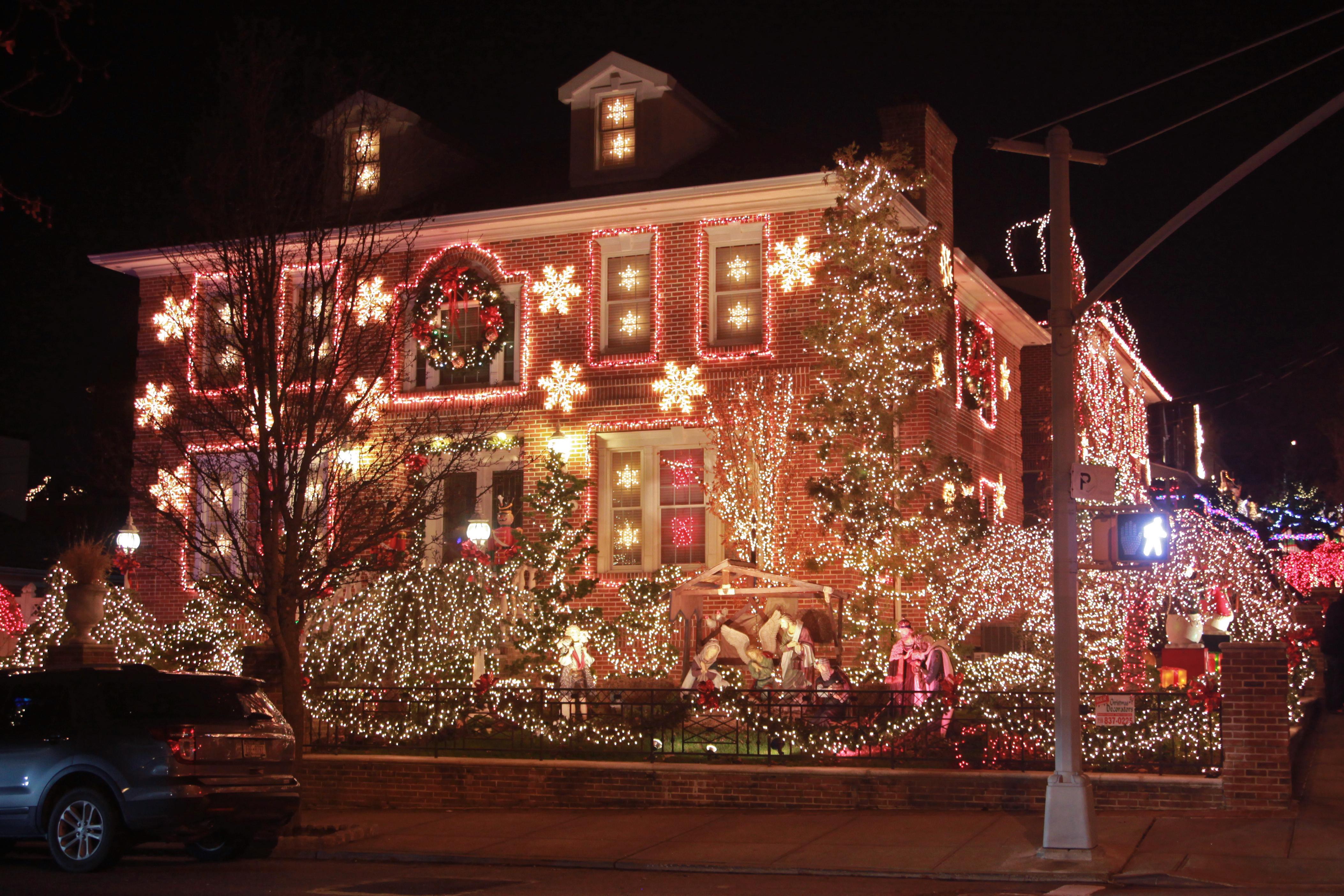 christmas lights tour boston